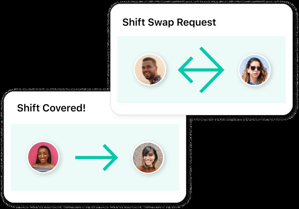 Empower staff to swap shifts