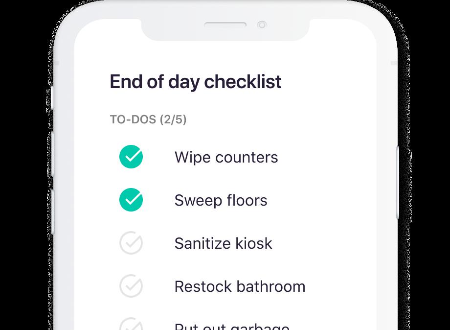 Manage tasks on the go